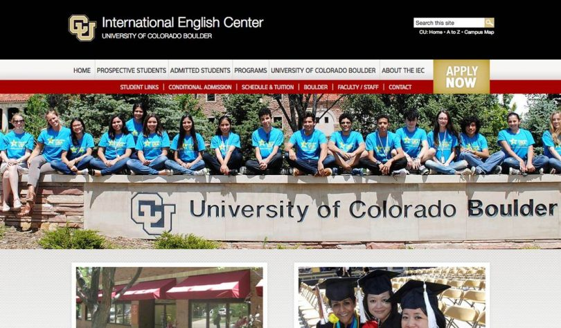 International English Center (IEC) at University of Colorado Boulder (CU)